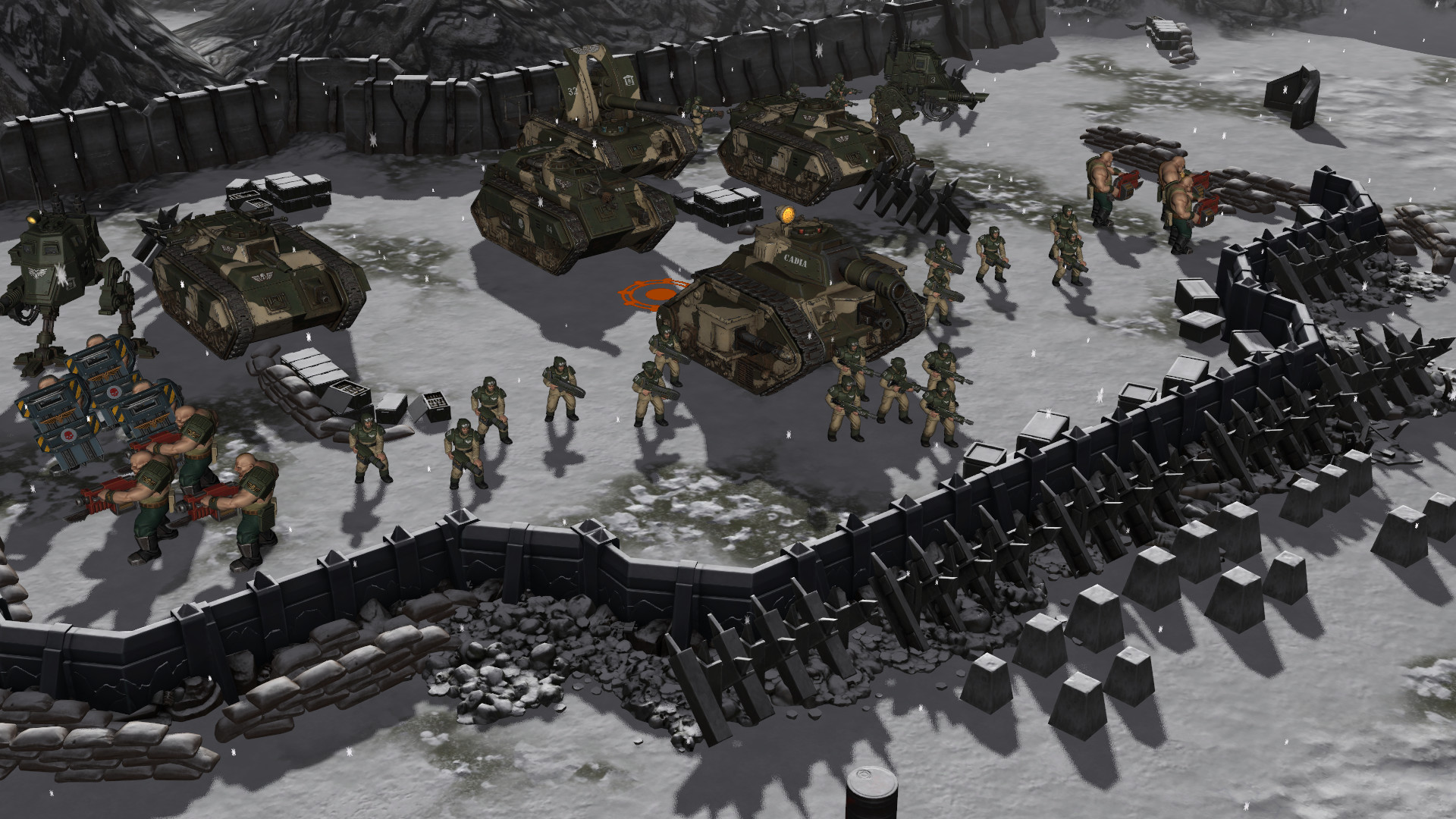 Free Fall Wallpaper Apps Warhammer 40 000 Sanctus Reach Sons Of Cadia V1 1 8