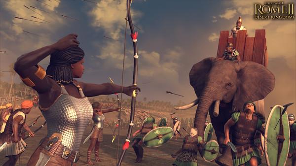 Total War ROME II Desert Kingdoms