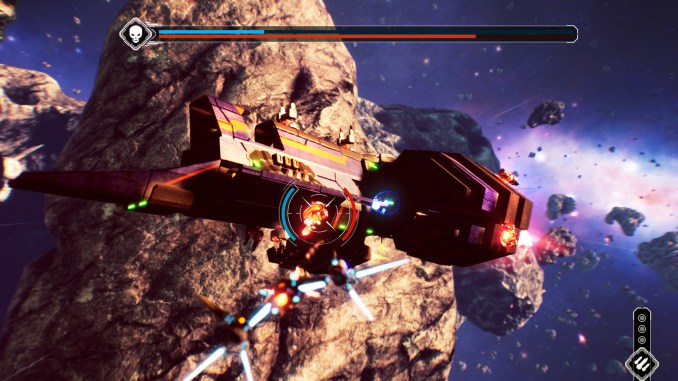 Redout: Space Assault screenshot 1