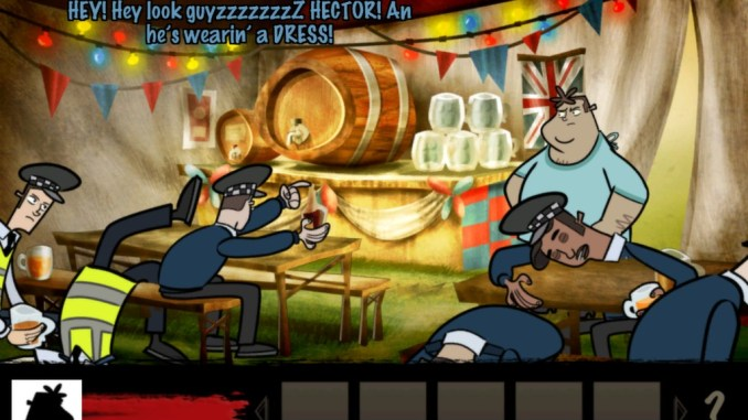 Hector: Badge of Carnage screenshot 1