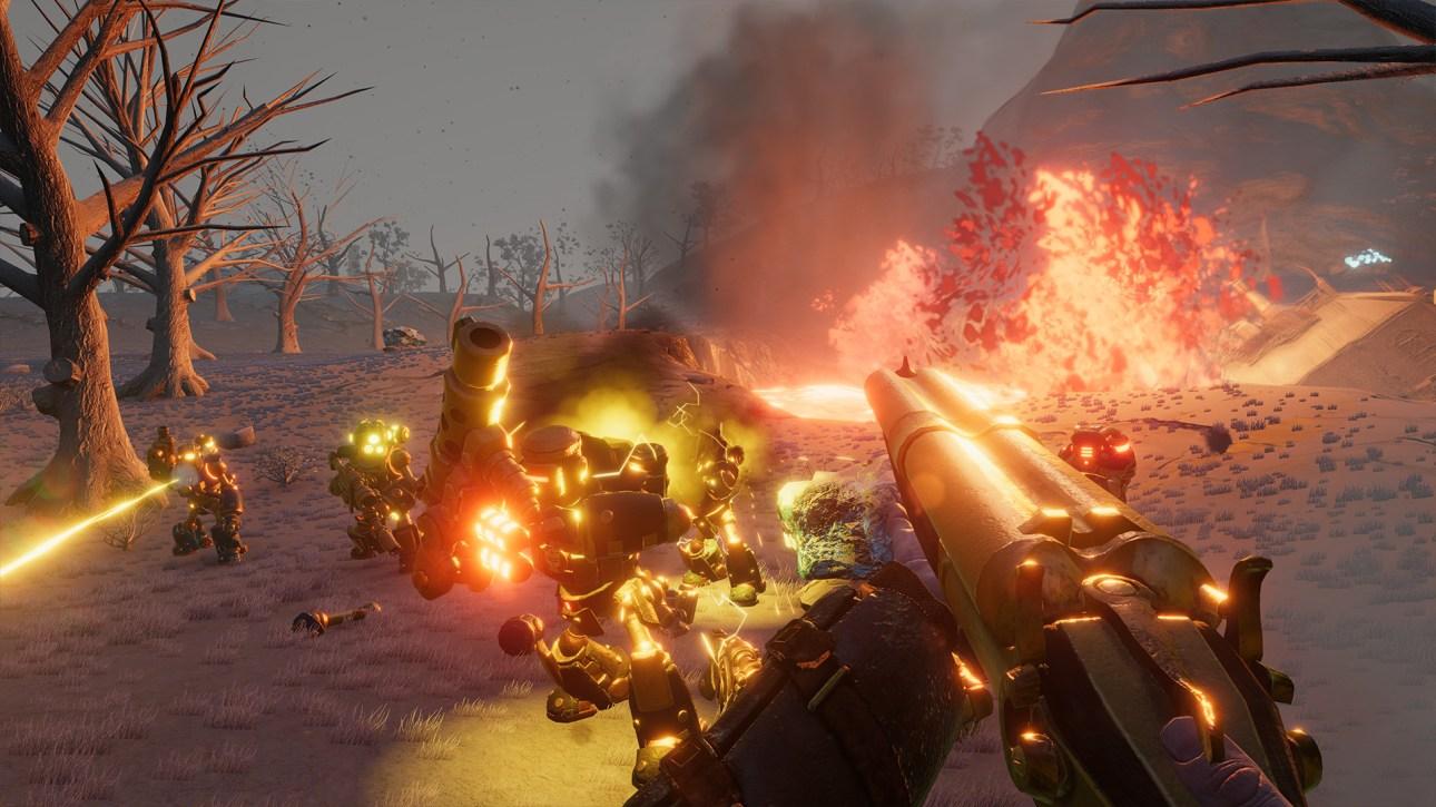 Volcanoids Combat Free Download