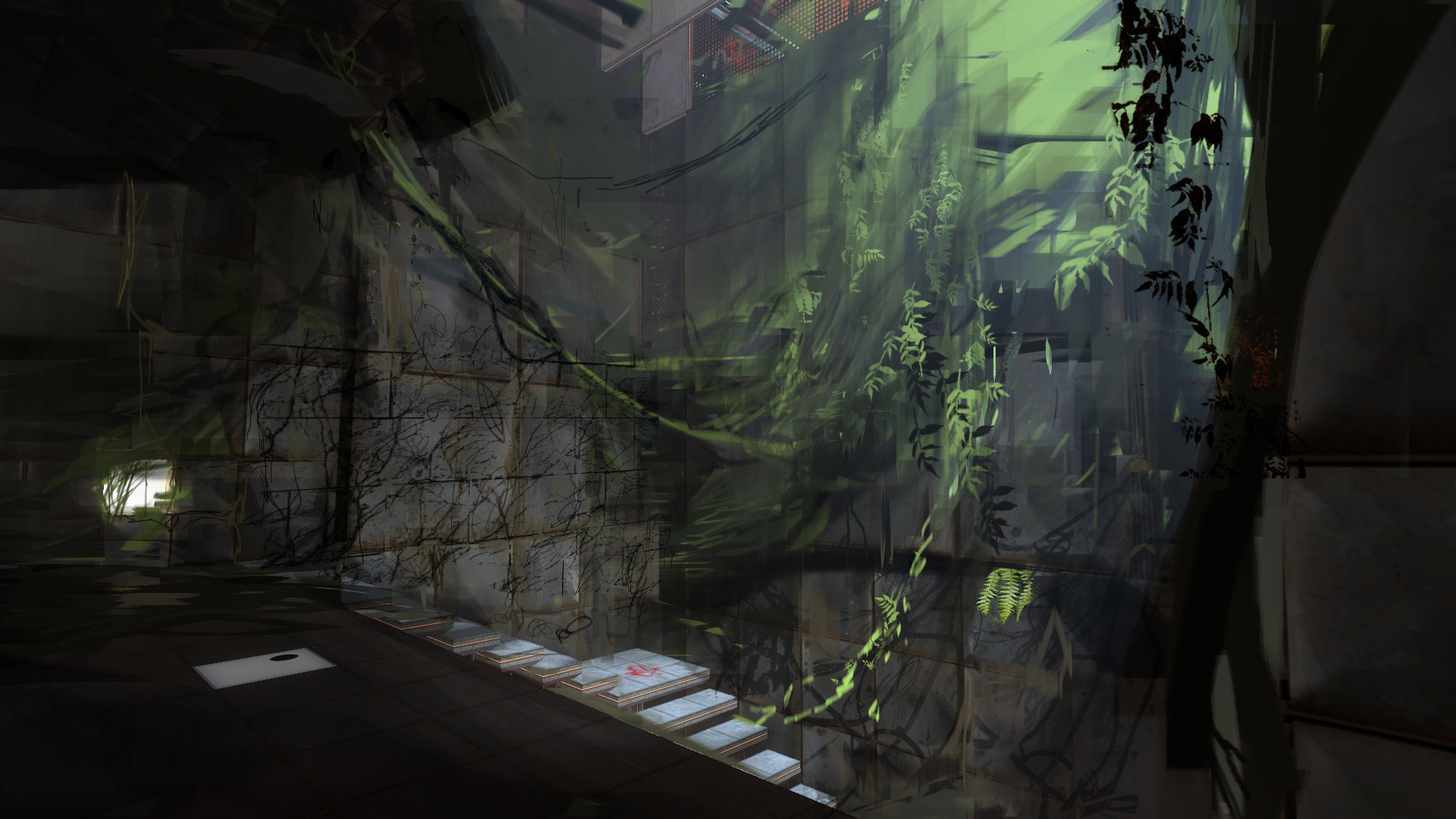 Falling Down A Portal Wallpaper Steam Trading Cards Are Pieces Of Artwork Usually 1080p