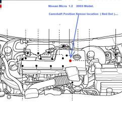 where is the camshaft sensor for a 2003 nissan micra located camshaft lifters diagram camshaft lifters diagram [ 1280 x 800 Pixel ]