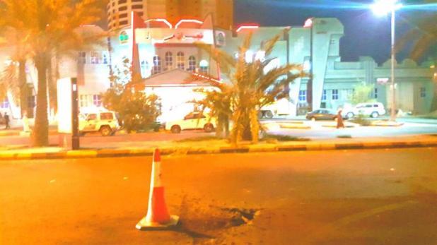 مقذوفات حوثية تستهدف مجمعا تجاريا بنجران وتتسبب بوفاة شخص وإصابة 7 (صور)