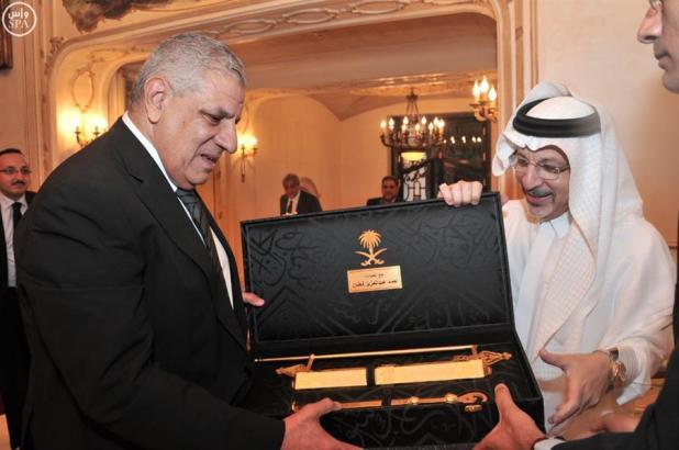 السفير قطان يقيم حفل إفطار تكريماً لرئيس الوزراء المصري