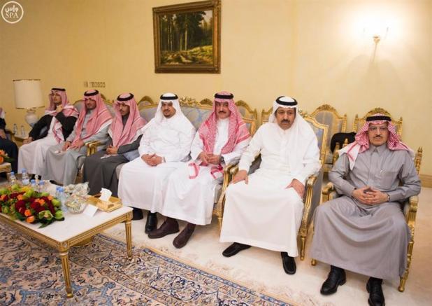 خادم الحرمين يستقبل قادة الدول المشاركة في تمرين رعد الشمال