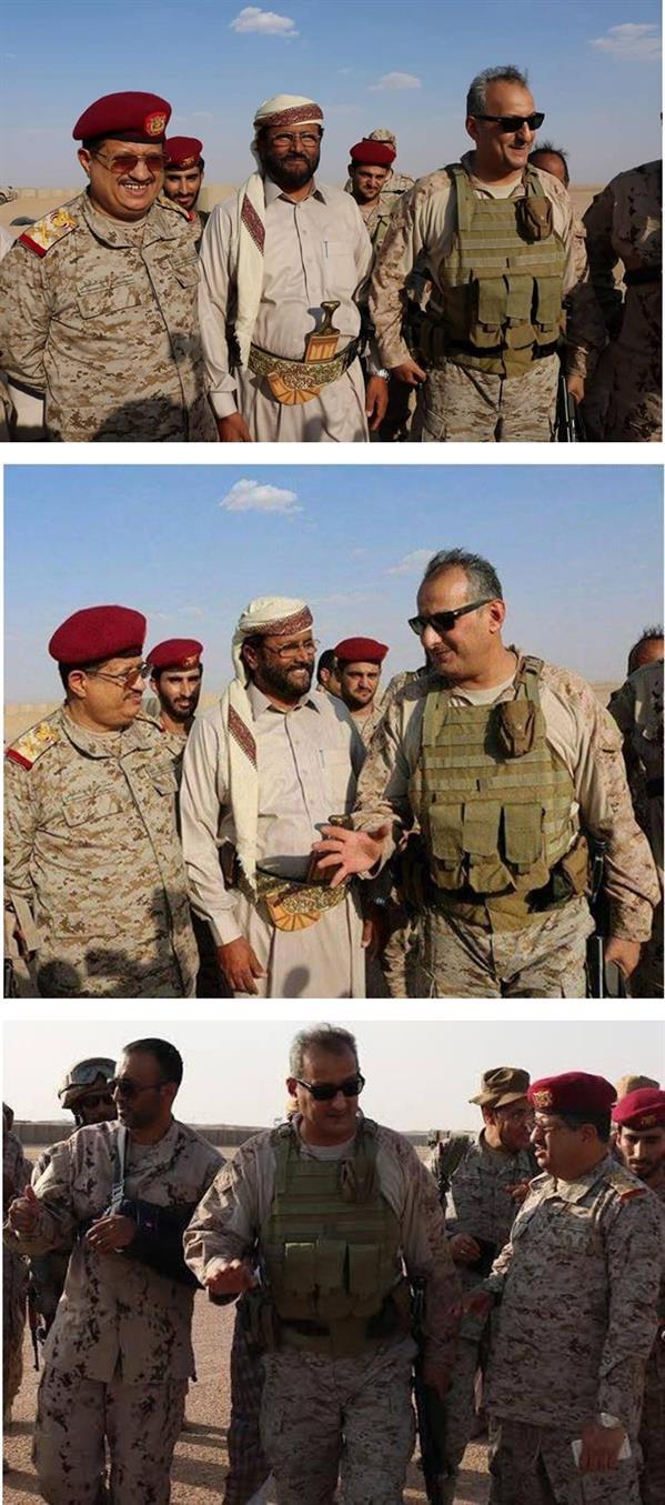 الأمير فهد بن تركي يتفقد قوات التحالف في مدينة مأرب اليمنية