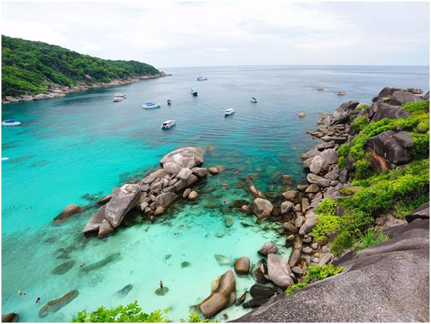 تعد تايلاند موطنا للعديد من الوجهات التي لاتزال مخفية عن الجماهير، بما في ذلك جزر سيميلان في بحر أندامان، وهي عبارة عن 11 جزير