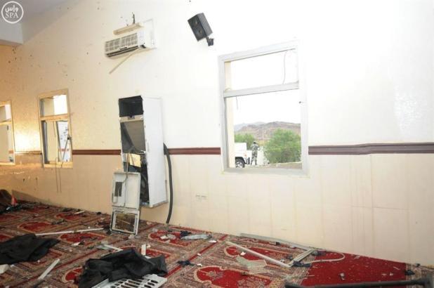 بالفيديو والصور.. الأضرار التي لحقت بمسجد قوات الطوارئ الخاصة بأبها