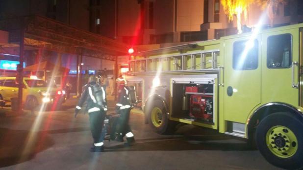 إخماد حريق بمستشفى الحياة بالرياض وإخلاء 25 منومًا