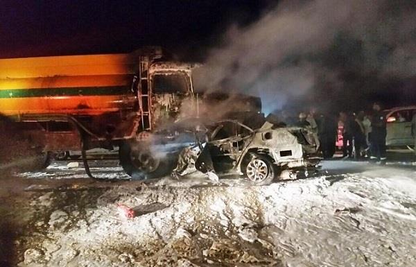 وفاة ثلاثة أشخاص في حادث مروع شرق صبيا