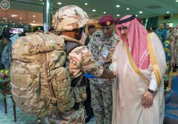 عرض العسكري لقوات الأمن الخاصة برعاية ولي العهد
