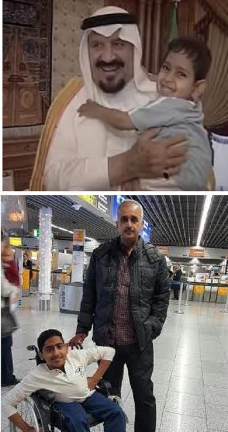 وفاة الصبي عبدالله بن عادل الجريد