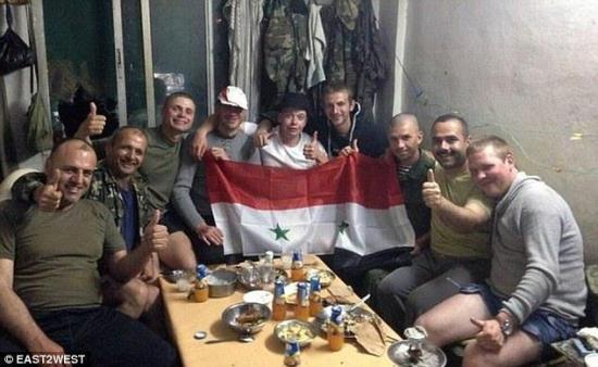 قوات روسية تخوض القتال في سوريا