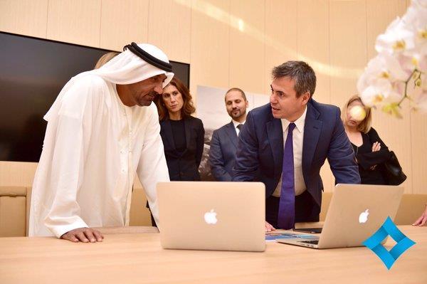 متجر ابل في دبي