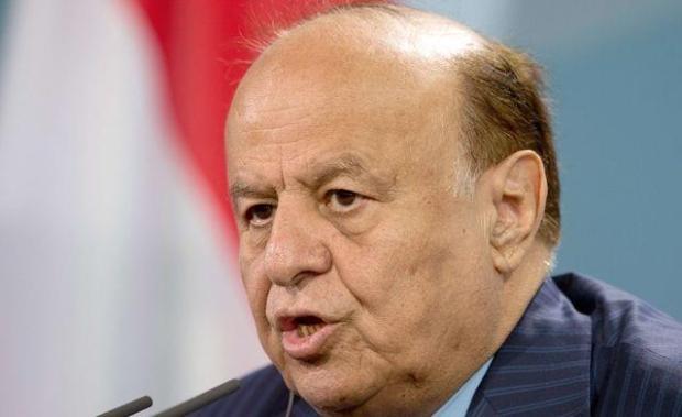 الرئيس هادي يعلن عن قبول الحوثيين تنفيذ قرار مجلس الأمن