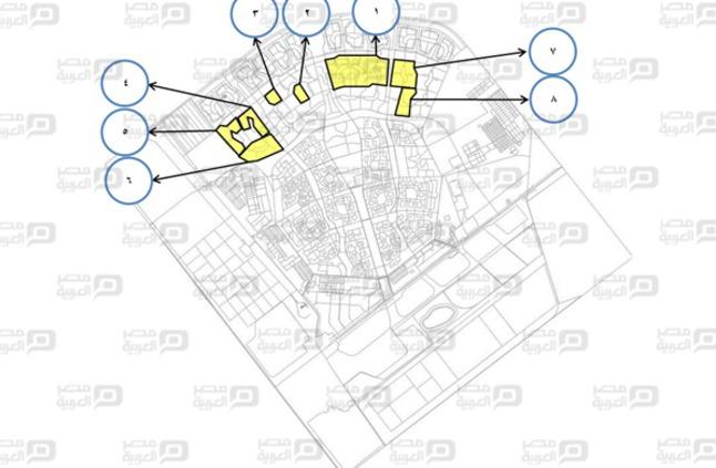 بالصور خريطة أراضي الإسكان الاجتماعي التكميلية بالعاشر من رمضان مصر