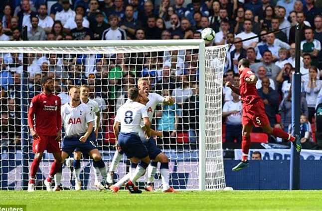 مباشر في إنجلترا توتنام 0 ليفربول 1 بداية الشوط الثاني