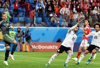 صلاح أحرز هدفين أمام كلًا من روسيا والسعودية