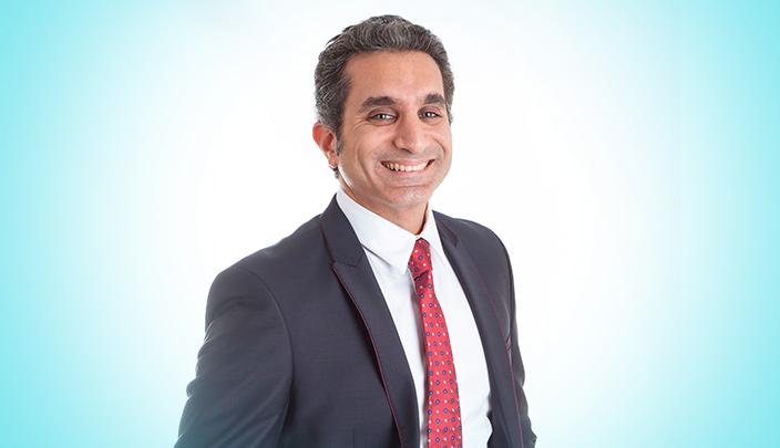 باسم يوسف على شاشة Mbc لأول مرة منذ وقف البرنامج
