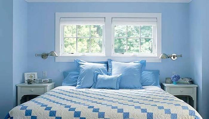 دراسةطلاء غرفة نومك بهذه الألوان يمكن أن يساعدك على النوم