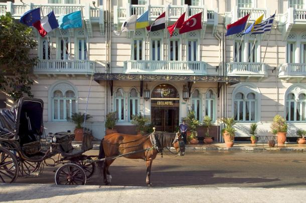 نتيجة بحث الصور عن فندق سيسيل من أقدم فنادق مدينة الإسكندرية