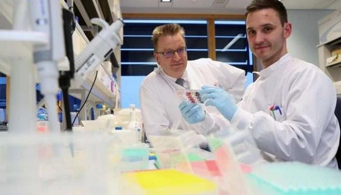 Cardiff University researchers who worked on the discovery
