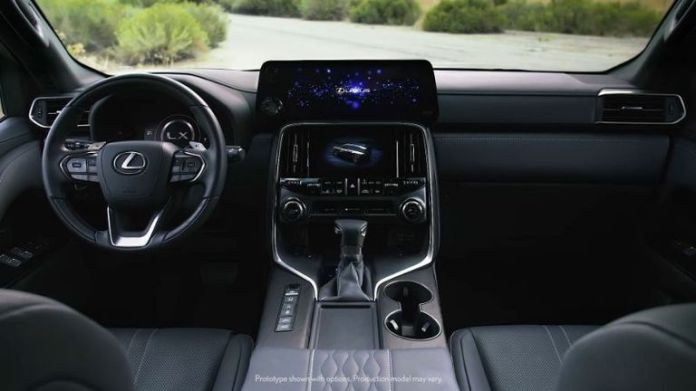 Lexus LX 600 interior