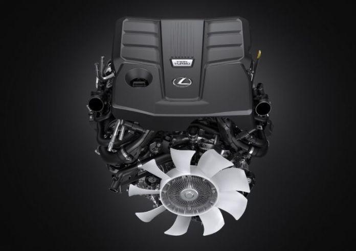 New Lexus LX 600 engine