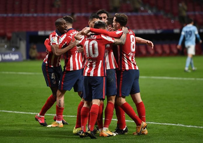 Atletico Madrid are the leaders of the Spanish League table