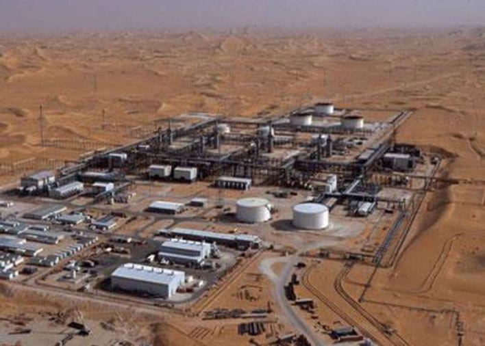 حوض بركين الجزائري النفطي