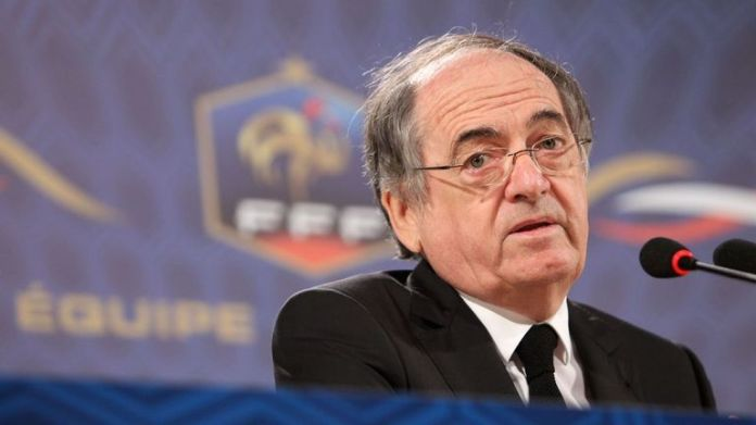Legret, president of the French Football Federation