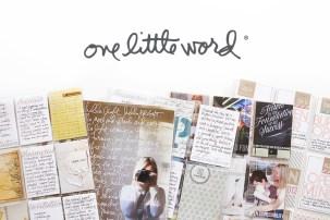 Ali Edwards One Little Word 2017