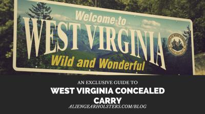 West Virginia Concealed Carry - Alien Gear Holsters Blog