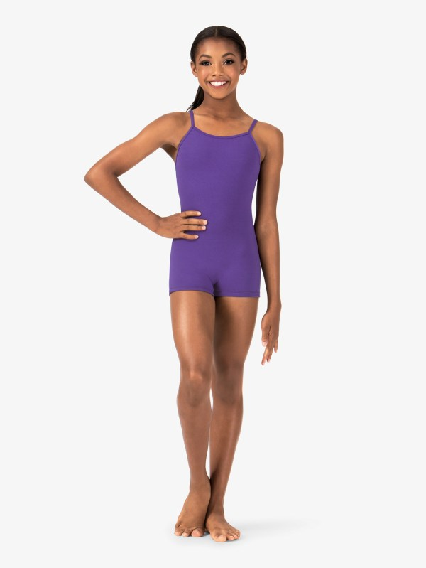 Free Shipping - Girls Camisole Shorty Unitard Theatricals