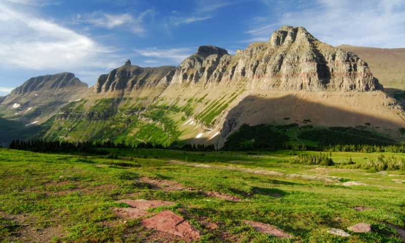 Garden Wall Glacier National Park  AllTrips
