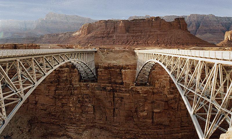 Navajo Bridge Colorado River in Arizona  AllTrips