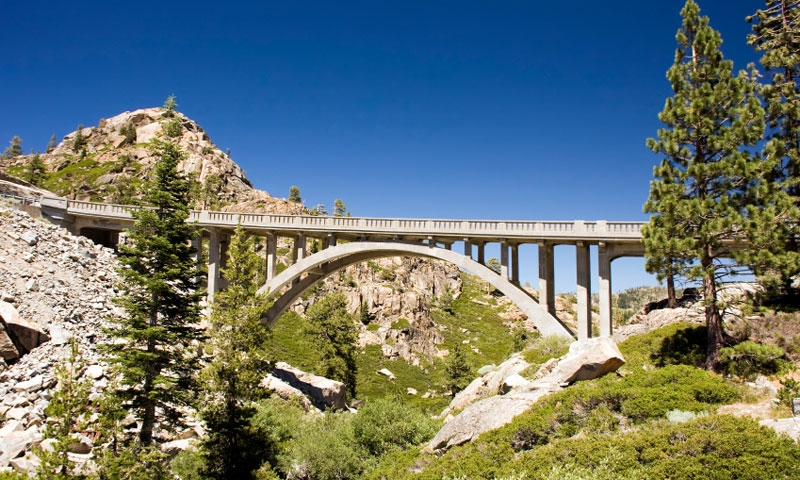 Lake Tahoe California Scenic Routes Driving  Auto Tours