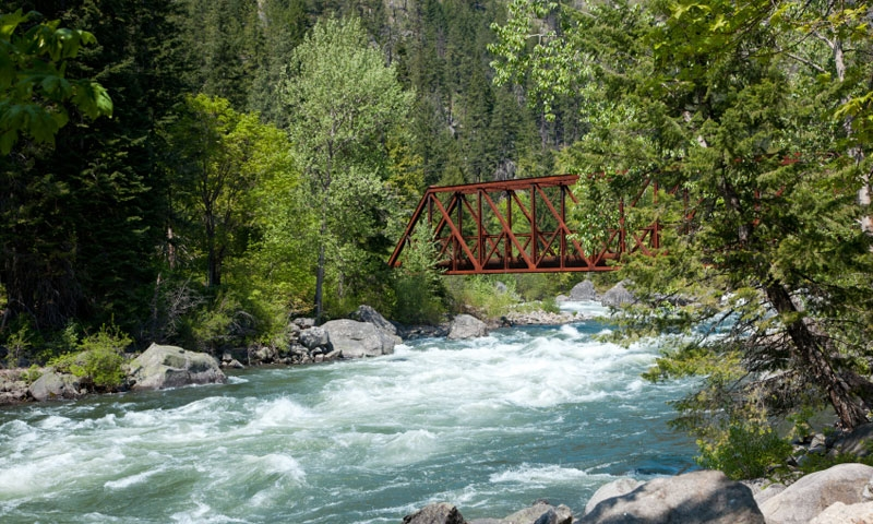 Leavenworth Washington Lakes Rivers  Waterfalls  AllTrips