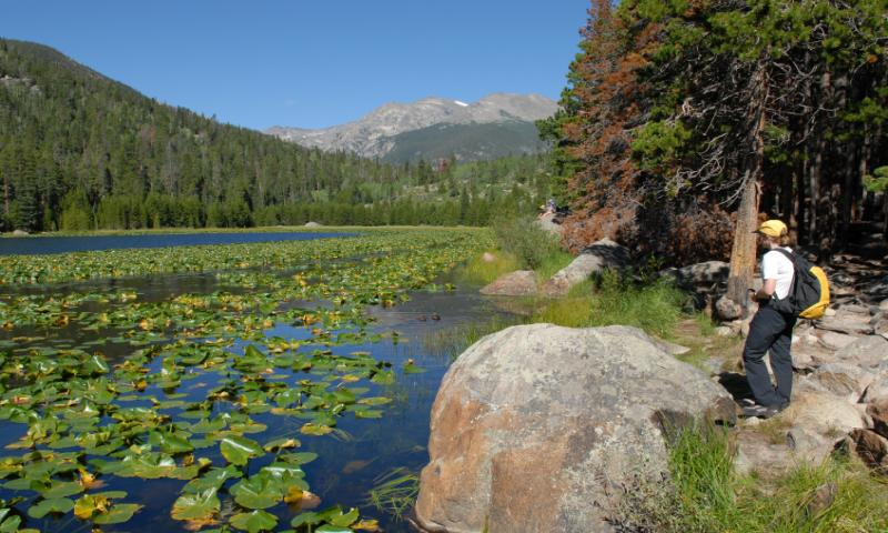 Rocky Mountain National Park Trails  Maps Trail Guide
