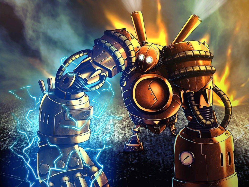 Punk Iphone Wallpaper Steampunk League Of Legends Golem Blitzcrank Steampowered