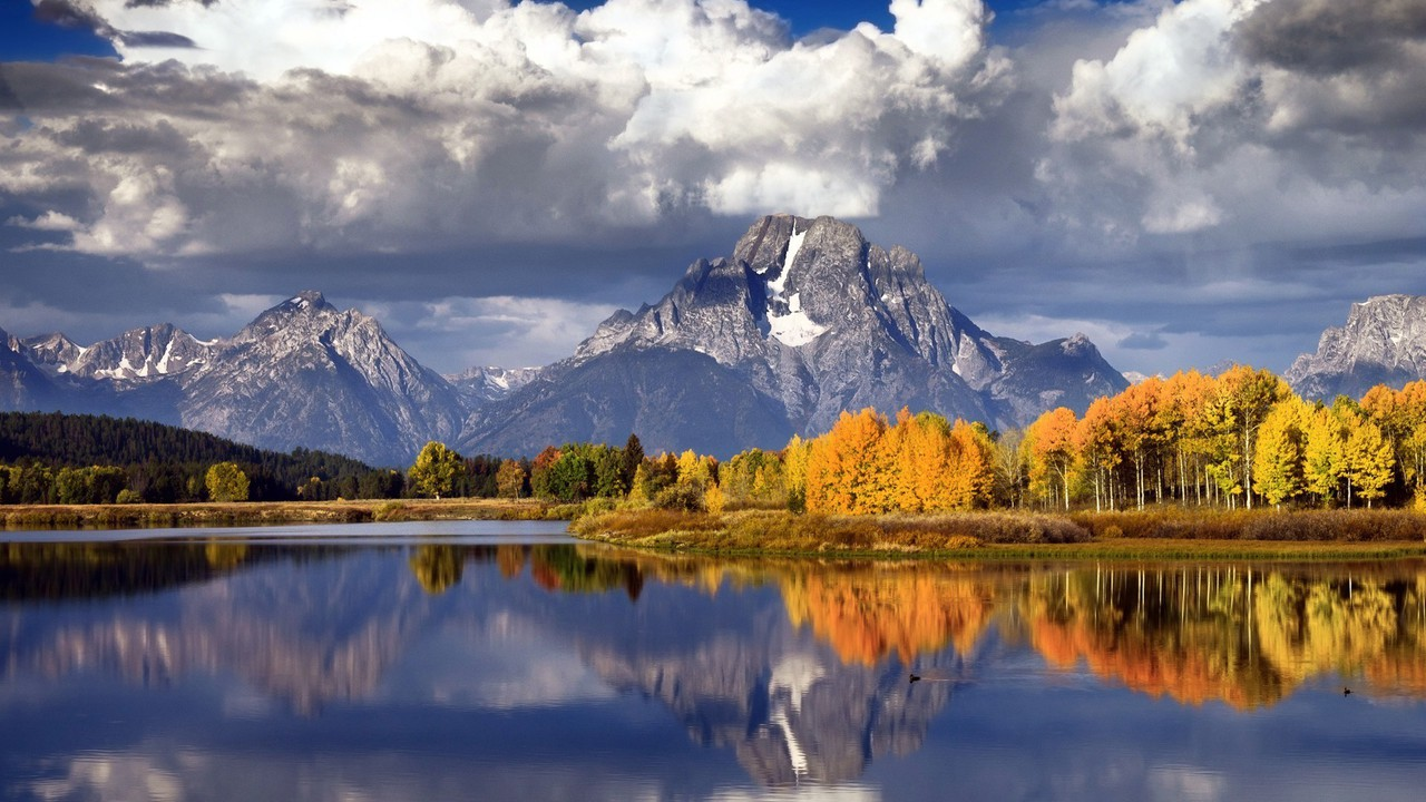Nature Wallpaper Autumn Fall 1600x1200 Autumn Forests Lakes Landscapes Mountains Wallpaper