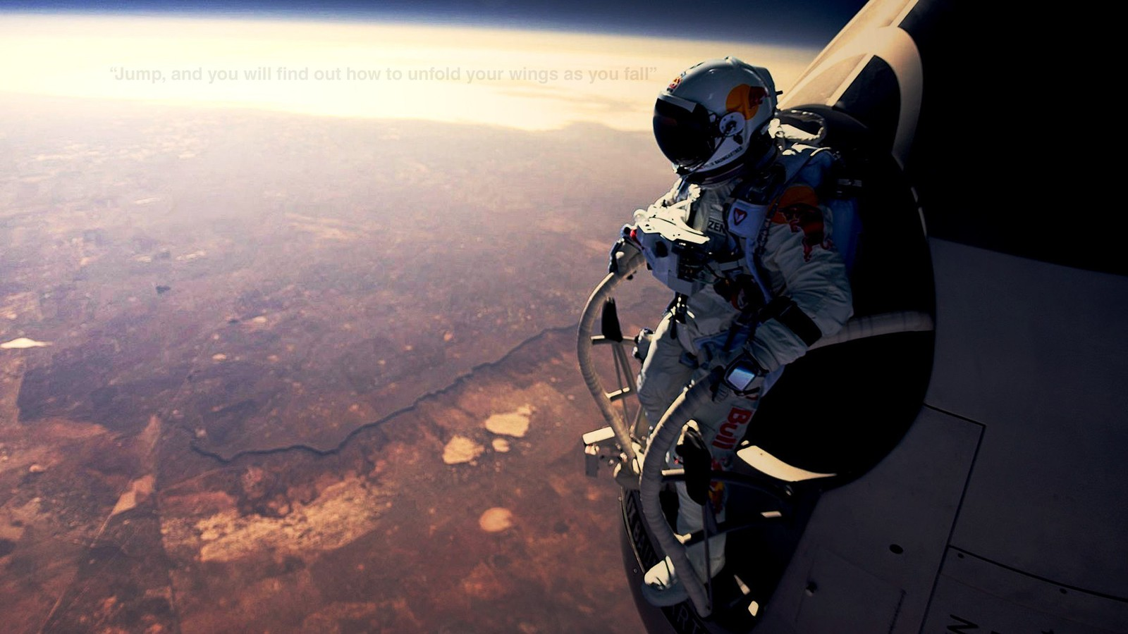Red Bull Wallpaper Hd Iphone Felix Baumgartner Red Bull Space Suits Stratosphere
