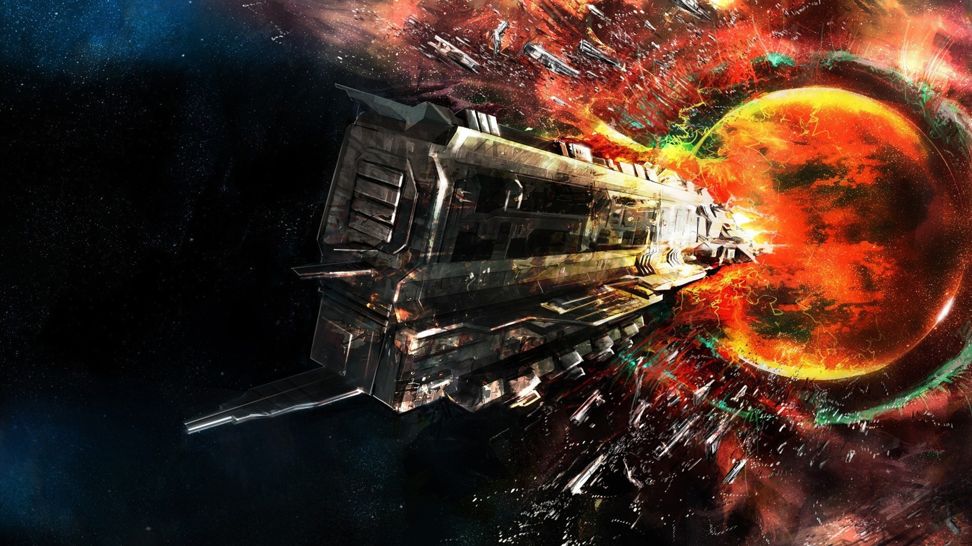 Iphone 5 Star Wars Wallpaper Outer Space Eve Online Fantasy Art Rokh Wallpaper