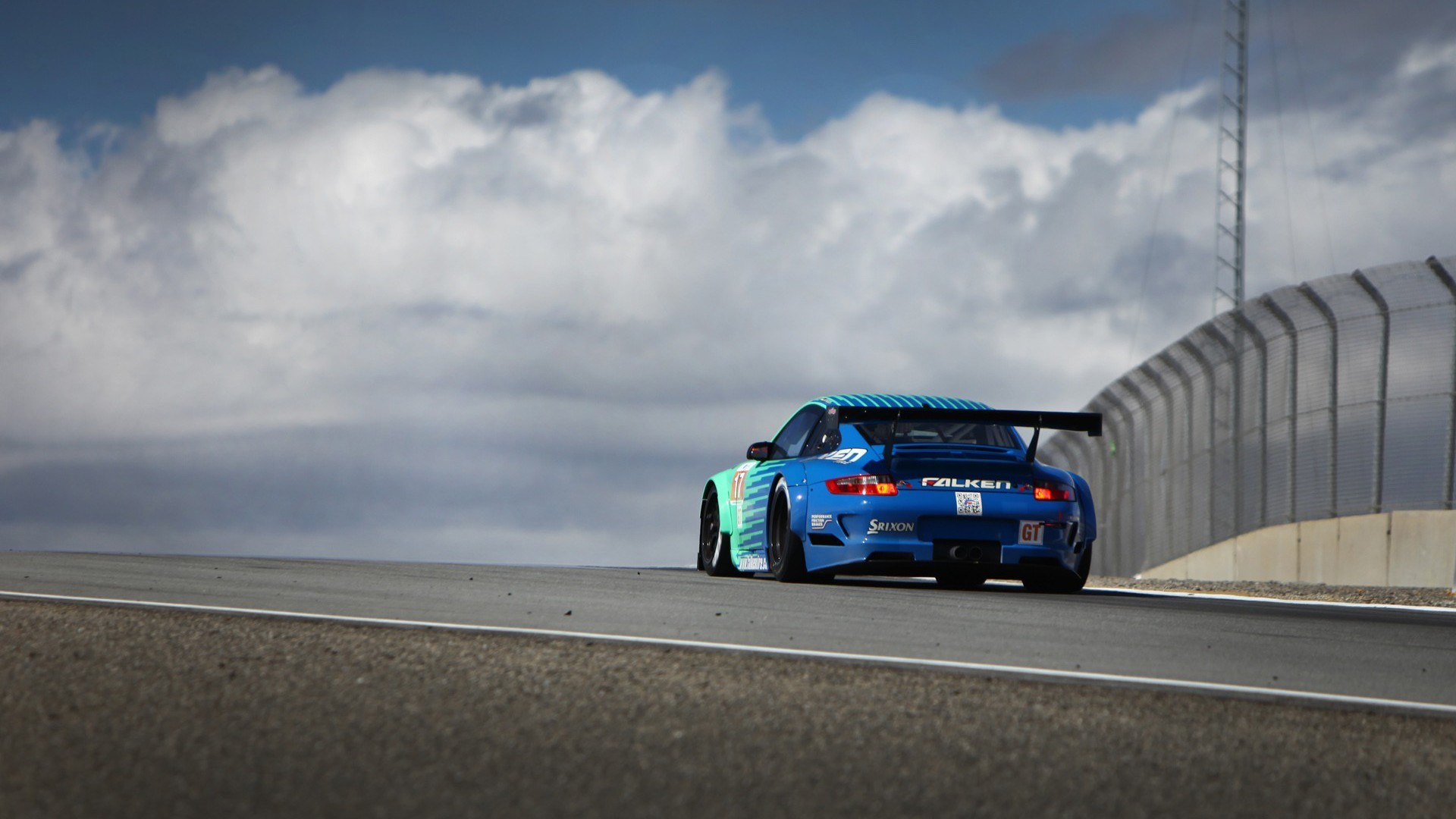 Race Car Wallpaper 1080p Falken Porsche Cars Drifting Wallpaper Allwallpaper In