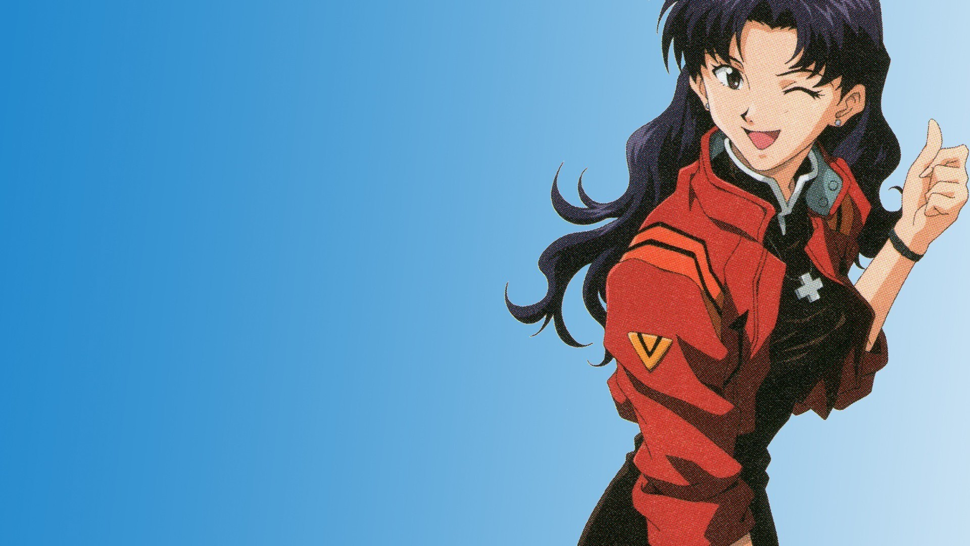 Iphone X Official Wallpaper Hd Download Misato Katsuragi Neon Genesis Evangelion Wallpaper
