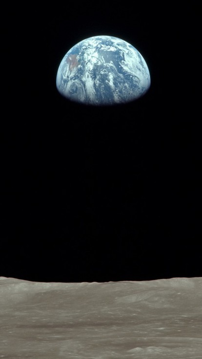Hd Best Wallpapers For Iphone Earth Moon Nasa Astronomy Earthrise Wallpaper