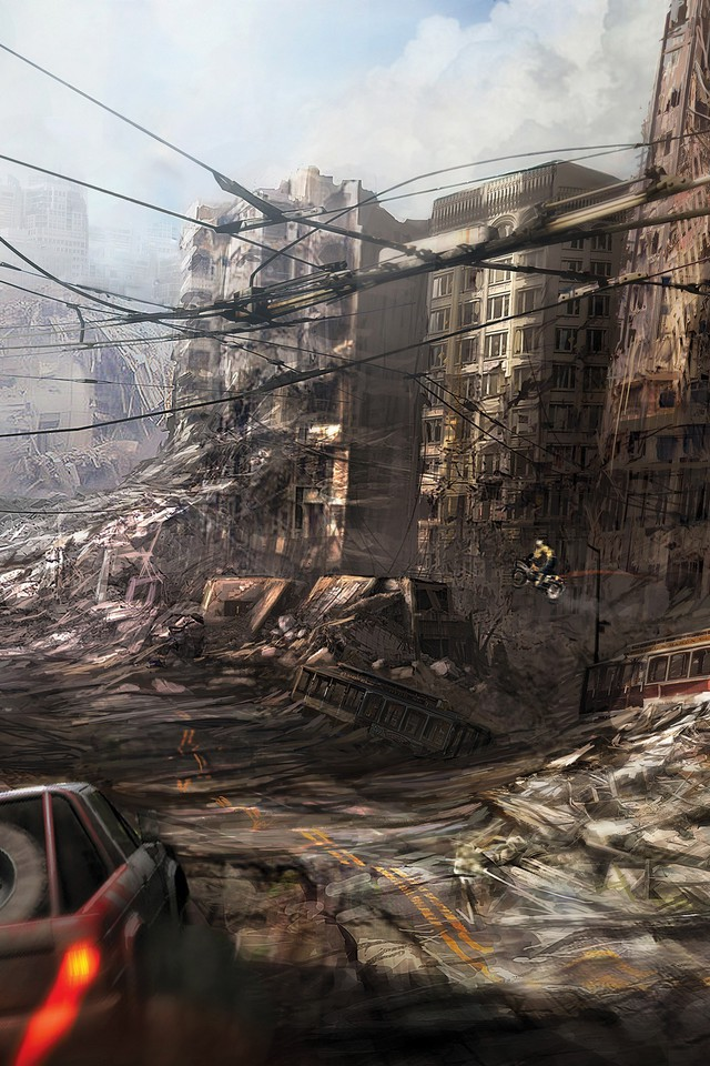 Apocalypse Wallpaper Hd Ruins Cityscapes Post Apocalyptic Artwork Wallpaper