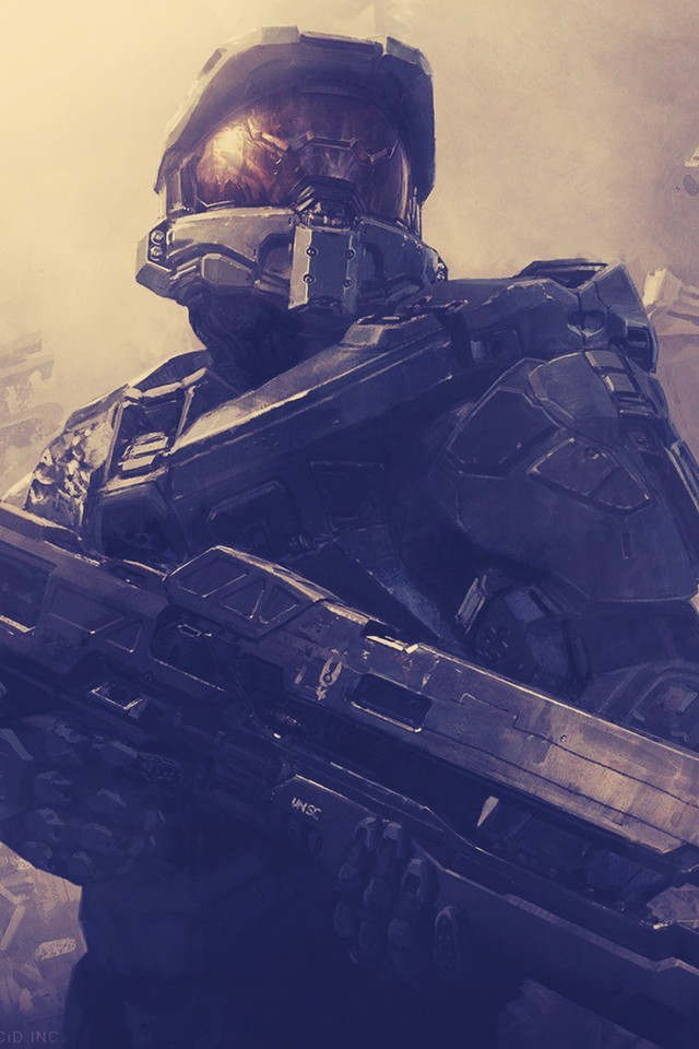 Hd Best Wallpapers For Iphone Halo Master Chief Digital Art Wallpaper Allwallpaper In