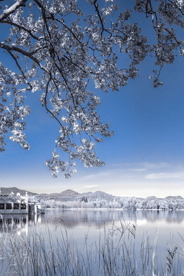 Fall Powerpoint Wallpaper Landscapes Nature Snow Lakes Wallpaper Allwallpaper In